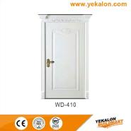 Hot Sale Super Quality Various Design wood grain handcraft solid wooden door(WD-410)