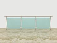 Top Selling Nice Quality Stylish Design Aluminum glass railing AG001