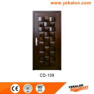 Bargain Sale Top Quality Fashion Designs engineered panel design solid wood door(CD-109)