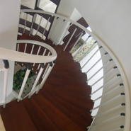 Top10 Best Selling Top Class Brand Design Stainless steel & Aluminum & Wood Staircase YKS-LWH