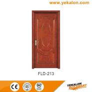 New Arrived Quick Lead Simple Design simple and fashion Flush veneer interior door(FLD-213)