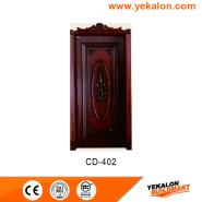 Hot Sale Super Quality Various Design engineered panel design solid wood door(CD-402)