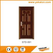 Yekalon Modern security door steel door,Metal Door, Iron Entrance Door STD-061