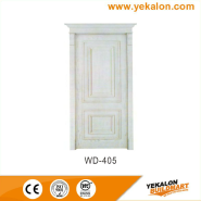 Bargain Sale Top Quality Fashion Designs wood grain handcraft solid wooden door(WD-405)