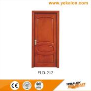 Top Selling Nice Quality Stylish Design simple and fashion Flush veneer interior door(FLD-212)