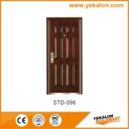 Yekalon Modern security door steel door,Metal Door, Iron Entrance Door STD-096
