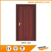 Yekalon WPD-003 Opening Sale Samples Are Available Special Design flush economic WPC door
