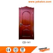 Top10 Best Selling Top Class Brand Design engineered panel design solid wood door(CD-141)
