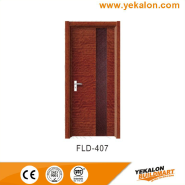 Professional Factory Supply Hot Quality Custom Fitted simple and fashion Flush veneer interior door(FLD-407)