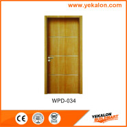 Yekalon WPD-036 Hotselling Excellent Quality Nice Design Popular design engineering WPC main door