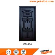 On Sale Premium Quality Good Design engineered panel design solid wood door(CD-404)