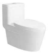 Hot Selling Good Quality Classic Design one piece toilet T-E8328-WS