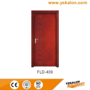Factory Supply Best Quality Customizable simple and fashion Flush veneer interior door(FLD-409)