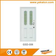 Yekalon GSD-008 On Sale Premium Quality Good Design Glass Series Modern Steel Security Door