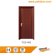 Discount High Standard Best Design simple and fashion Flush veneer interior door(FLD-402)