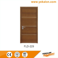 Best Choice Exceptional Quality Popular Design simple and fashion Flush veneer interior door(FLD-229)