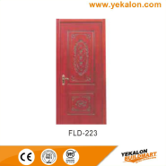Best Choice Exceptional Quality Popular Design simple and fashion Flush veneer interior door(FLD-223)