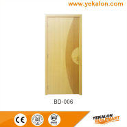 Top Selling Nice Quality Stylish Design Chinese classical solid bamboo door(BD-006)