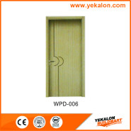 Yekalon WPD-006 Best Seller Elegant Top Quality Personalized Design flush economic WPC door