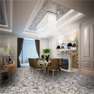 Hot Sell Hot Quality Fashionable Design Wilton Rugs Carpet in Roll WSF1053 with Cut Pile for Hotel and Apartment