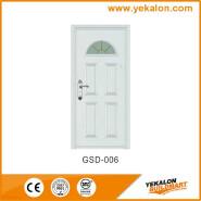Yekalon GSD-006 Hot Sale Super Quality Various Design Glass Series Modern Steel Security Door