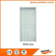 Yekalon WPD-004 Bargain Sale High quality Fashion Designs flush economic WPC door