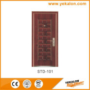 Yekalon Modern security door steel door,Metal Door, Iron Entrance Door STD-101