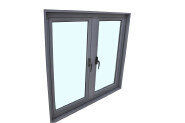 Top Sale Samples Are Available Custom Tag casement window YKW-AC55