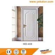 Hot Sales High Standard Professional Design wood grain handcraft solid wooden door(WD-408)
