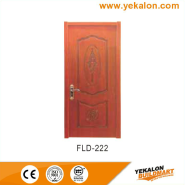 Hot Sell Hot Quality Fashionable Design simple and fashion Flush veneer interior door(FLD-222)