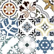 Newest Premium Quality Customization Alpha Flower series Rustic Tiles YAF618