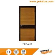 New Arrival Luxury Quality Best Design simple and fashion Flush veneer interior door(FLD-411)