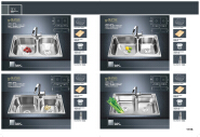 Hot Sell Hot Quality Fashionable Design Kitchen Sinks