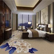 New Product Highest Level Fancy Design Wilton Rugs Carpet in Roll WSF978 with Cut Pile for Hotel and Apartment