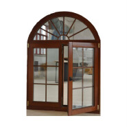 High Quality Hot Design casement solid wood windows with oak or pinwood ,new design W1