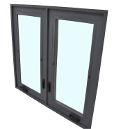 Discount Best Quality Custom Design Aluminum Windows YKW-AC50