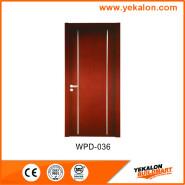 Yekalon WPD-036 Hot Sell Hot Quality Fashionable Design Popular design engineering WPC main door