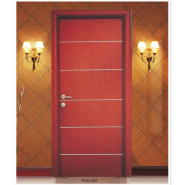 Yekalon Hot Sale High Standard Professional Design Interior PVC door(PVD-095)