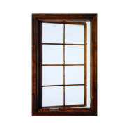 Opening Sale Samples Are Available Special Design single-hung Wood&Aluminium Windows W17