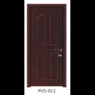 Yekalon New Arrival Luxury Quality Best Design Waterproof Toilet Door Bathroom Door Interior PVC door(PVD-012)
