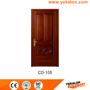 Opening Sale Samples Are Available Special Design engineered panel design solid wood door(CD-105)