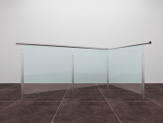 Sales Promotion High Quality Original Design Aluminum glass railing AU004