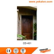 New Product Highest Level Fancy Design engineered panel design solid wood door(CD-401)
