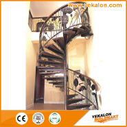 Best Seller Elegant Top Quality Personalized Design Iron fence staircase YKS-SWC1