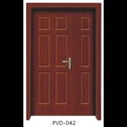 Yekalon Hot Sale Quality Guaranteed Customized Design Interior PVC door(PVD-042)