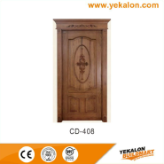 Hot Sell Hot Quality Fashionable Design engineered panel design solid wood door(CD-408)