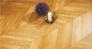 Sales Promotion High Quality Original Design Solid Wood Flooring Oak-Chevron