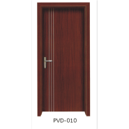 Yekalon Professional Factory Supply Hot Quality Custom Fitted Waterproof Toilet Door Bathroom Door Interior PVC door(PVD-010)