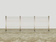 Top10 Best Selling Top Class Brand Design Stainless Steel Cable/Solid-rod Railing SR001