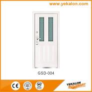 Yekalon GSD-004 Hot Sales High Standard Professional Design Glass Series Modern Steel Security Door